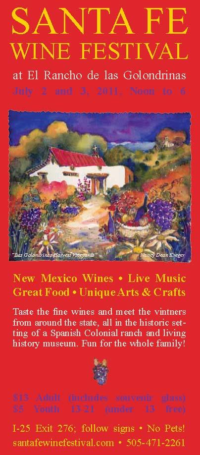 Santa Fe Wine Festival, Las Golondrinas